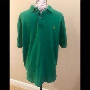 Polo Ralph Lauren collared shirt Large Green